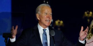 Companies such as Facebook, Google parent Alphabet and Amazon were among the biggest risers as it seemed Joe Biden's Democrats would fail to wrest control of the Senate