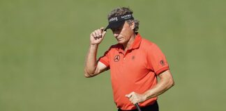 Veteran Bernhard Langer, 63, is set to become the oldest player to make the cut at the Masters