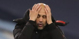 Manchester CityPep Guardiola could not hide his frustration as his side dropped more points