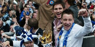 Joe Cole (left) believes his former team-mate Frank Lampard could win the double this season