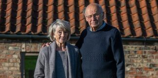 Struggle:Wendy Bowles, 81, (pictured with husband Derek, 84) may have missed out on as much as £17,000. She was repeatedly admitted to hospital after struggling to afford heating