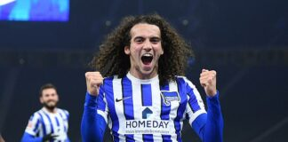 Matteo Guendouzi has impressed during his loan spell in the Bundesliga with Hertha Berlin