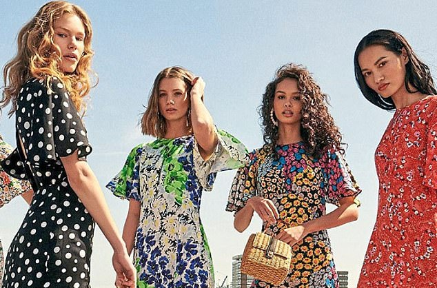 Fashion stakes: Next, which as a frontrunner in the race to buy Topshop has now admitted it cannot match its rivals