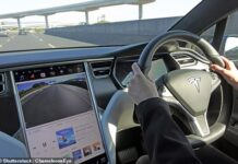 The document specifically cites Model S vehicles produced from 2012 through 2018 and the Model X (pictured) from 2016 to 2018 – these models are designed with a certain processor that fails when storage capacity is reached