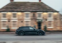 A behind-the-scenes Turismo: This undercover Porsche is the new electric Taycan Cross Turismo that