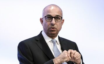 Former WorldPay boss Ron Kalifa (pictured) urged bosses at the Bank of England to embrace cryptocurrencies rather than dismiss them as a dangerous fad