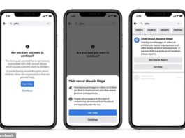 Facebook is making an effort to end child exploitation on its platform with new tools for detecting and removing such photos and videos. The features include a pop-up message that appears when users search terms associated with child exploitation and suggestions for people to seek help to change the behavior
