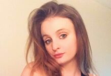 Chloe Middleton, 21, became one of the UK