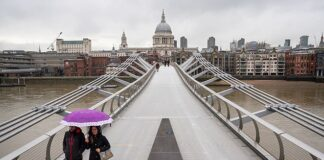 Deserted:It looks as though London may have lost half a million people through the pandemic
