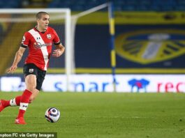Southampton midfielder Oriol Romeu will miss the rest of the season with a fractured ankle
