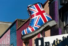 No bovver: Iconic British boot maker Dr Martens stomped onto the London stock market this week with a £3.7billion float