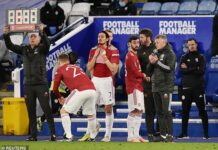 Even with their superstar substitutions Manchester United were not good enough to win