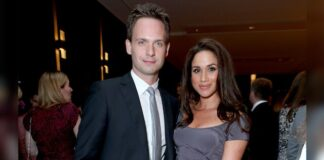 Meghan Markle and Patrick J. Adams starred in