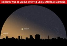 This Saturday morning (March 6) marks Mercury