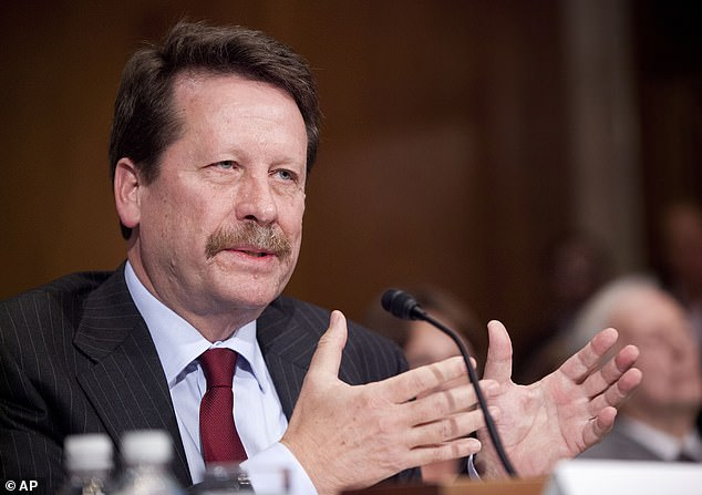 Dr Robert Califf, a former FDA commissioner, predicted in an American Heart Association journal article that the U.S. will see a surge in chronic illnesses like heart disease - which was already on the rise - in the years following the pandemic (file) sure