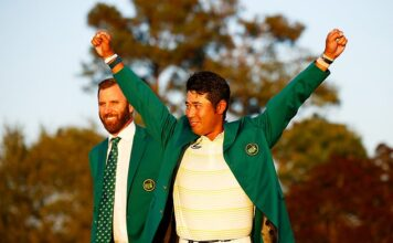 Hideki Matsuyama won the 2021 Masters after surviving a nervous finish at Augusta National