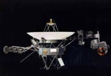One of the two Voyager spacecraft