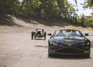 Separated by a Century: This is the limited Aston Martin Vantage Roadster A3 Centenary edition - a modern nod to the 1921 original