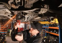 Man of steel: Toby Walne finds out how easy it is to remove a catalytic converter from a Toyota Yaris