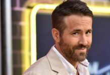 """Ryan Reynolds attends the premiere of """"Pokemon Detective Pikachu"""" at Military Island in Times Square on May 2, 2019 in New York City."""
