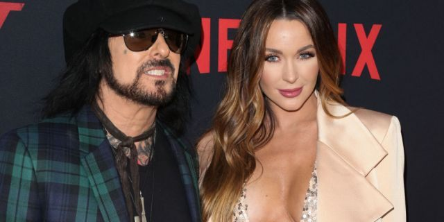 Nikki and Courtney attend the Premiere Of Netflix