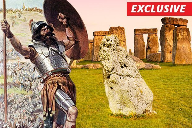 A researcher claims Stonehenge is made fromagiant