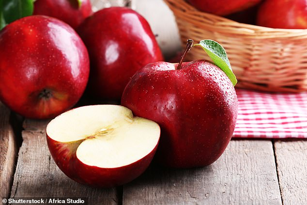 Apples contain antioxidants that