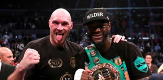 Tyson Fury has once again confirmed the date for his rematch with Deontay Wilder (right)