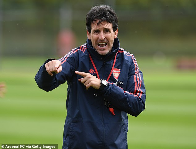 Arsenal head coach Unai Emery has shown he is one for realism this season
