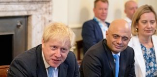 Action men:New Chancellor Sajid Javid has warned that there is