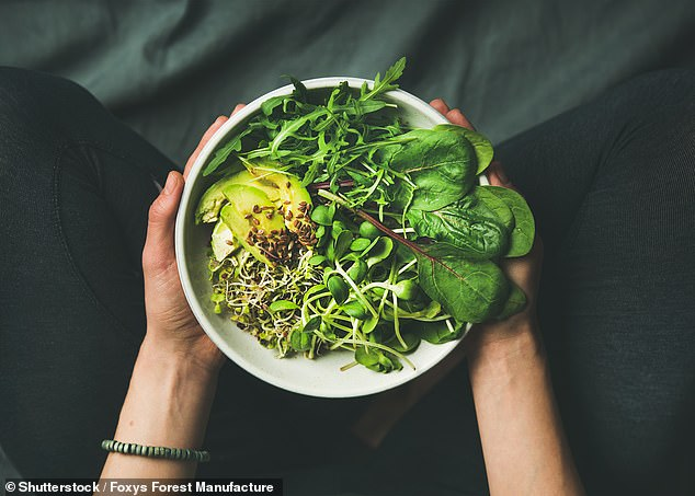 The world must turn towards healthy plant-based diets to stop climate change, a UN-backed report has warned (file photo)
