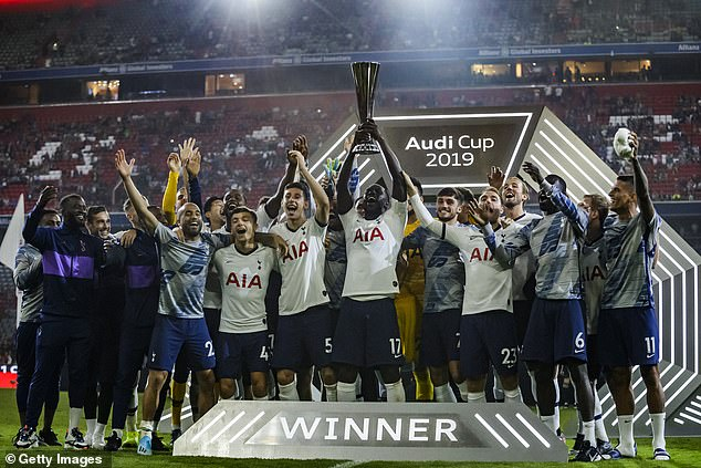 Tottenham won the Audi Cup after beating Bayern Munich on penalties on Wednesday