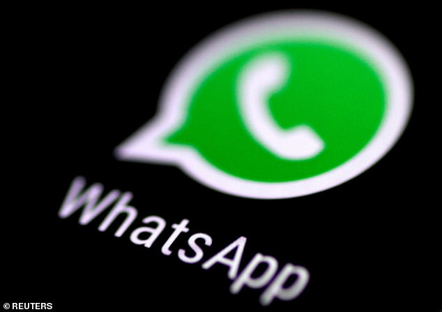 A glitch in the code of WhatsApp could let hackers alter your messages and change the words you have sent, cybersecurity researchers have found (stock image)