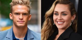 Cody Simpson and Miley Cyrus we caught kissing in Los Angeles. (Getty-AP)