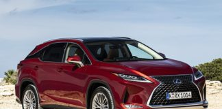 Well-padded: The new Lexus RX SUV blends petrol and electric for greater fuel efficiency