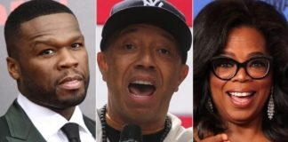 50 Cent and Russell Simmons aren