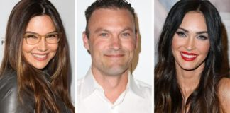 Vanessa Marcil, left, recently spoke out about her custody battle with ex Brian Austin Green and his wife, Megan Fox, right.