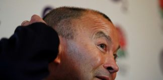 Eddie Jones has apologised to a reporter after appearing to accuse him of racism on Thursday