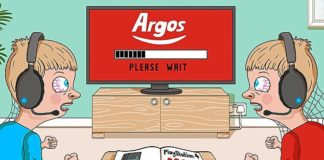 Left out: Argos refused to replace ten-year-old twins