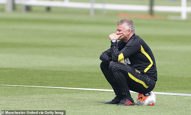 Ole Gunnar Solskjaer does not know how much money he will be given to spend