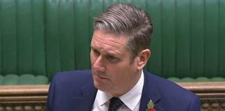 Sir Keir Starmer, pictured during Prime Minister