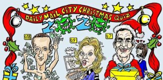 Test your knowledge of the names and events that shaped the past 12 months of the financial world in our City Christmas quiz