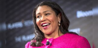 London Breed, mayor of San Francisco, speaks during the Players Technology Summit in San Francisco, California, U.S., on Thursday, June 27, 2019.