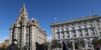 Liver Building and Cunard Building