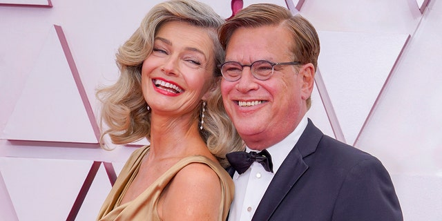 Paulina Porizkova and Aaron Sorkin reportedly began dating a few months ago. (Photo by Chris Pizzello-Pool/Getty Images)