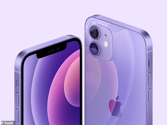 The new shade of purple will be available for both the iPhone 12 and iPhone 12 mini