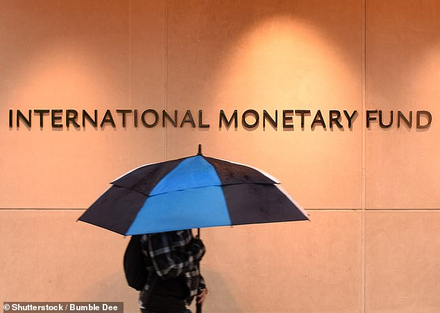Weathering the storm: The IMF will warn the recovery in parts of the world is being held back by faltering vaccination programmes and rising infection rates