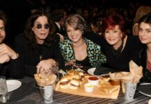 Jack Osbourne, Ozzy Osbourne, Kelly Osbourne, Sharon Osbourne and Aimee Osbourne attend Spike TV