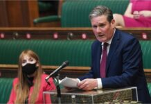 Sir Keir Starmer in Parliament