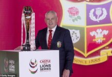 The Lions must not take a backward step and that has guided Warren Gatland